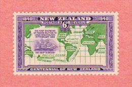 NZL SC #237 MLH  1940 Ship Carryoing Mutton To England - Unused Stamps