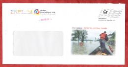 Infopost, Aktion Deutschland Hilft, Hochwasser, Frankierwelle (70282) - BRD