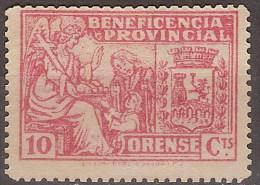 Locales Orense Galvez 532 (*) Beneficencia Provincial. - Vignette Della Guerra Civile