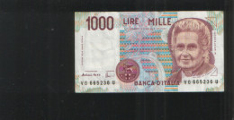 ITALY 1000 LIRE 1990 - [ 2] 1946-… : Républic