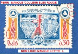 VARIÉTÉS 1964  N°  1404  SAPEURS POMPIERS OBLITÉRÉ 3 SCANNE DESCRIPTION - Varieties: 1960-69 Used