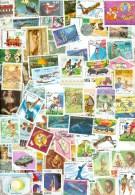 4 Kilo STAMPS Briefmarken Timbres MIX FORMAT GRANDE THEMA * THEMATIQUE  SANS PAPER * THEMES OFF PAPER - Briefmarken