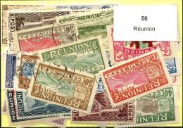 50 Timbres Reunion