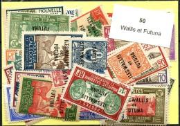 50 Timbres Wallis Et Futuna
