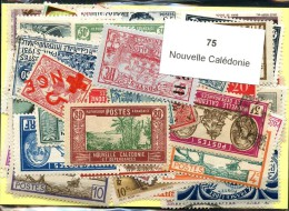 75 Timbres Nouvelle Caledonie