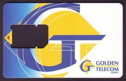 UKRAINE. GOLDEN TELECOM GSM SIM-CARD. Frame Without Chip. Nr. 9 - Ukraine