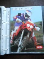 Aprilia Tuareg Rally 125 Moto Depliant Originale Rare Factory Original Brochure Prospekt - Moto