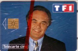 FRANCE PRIVEE GN195  5U LAURENT CABROL  TF1 TV TELEVISION NSB MINT IN BLISTER