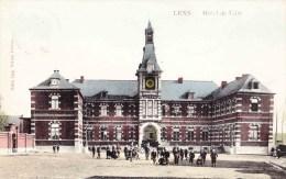 LENS - Hôtel De Ville - Superbe Carte Colorée Et Animée - Lens