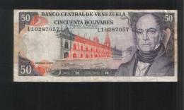 VENEZUELA 50 Bolivares 1992 - Venezuela