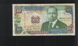KENYA 10 Shillings 1992 - Kenia