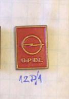 OPEL LOGO Veru Old - Older Pin & EXTRA RARE ! From Ex Yugoslavia 1.6cm - Opel