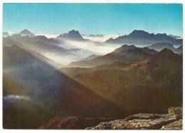 1978 - Trento - Dolomiti - Panorama Di Cima Boè - Antelao - Pelmo - Civetta. - Trento