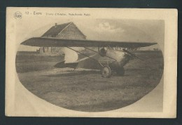 Evere.  Bruxelles.  Champ D´Aviation. Avion.   Moto- Aviette Mulot. 12. - Evere
