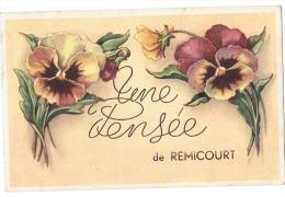 CP Remicourt - Une Pensée De Remicourt - 1949 - Remicourt