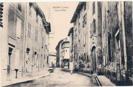 REGNY  Grande Rue écrite TTB - Other Municipalities