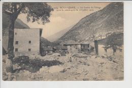 Carte  De  Fourneaux  Après La Catastrophe Du 23 Juillet 1906  ( Près De Modane ) ( Recto Verso ) - Modane