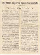 ESILIO INDOMITO, RISTAMPA DELLA SCINTILLA, Giornale Di Battaglia Nella Prigionia Italiani In Sigmundsherberg 1916-1918, - 1914-18