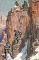 Postcard Militaria RA001872 - Im Kampf Um Tirol - Guerre 1914-18