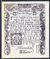 U.S. COLONIAL CONN.    FACIMILE  ON  PARCHMENT  PAPER - Valuta Coloniale (XVIII Secolo)
