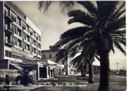 Civitavecchia - Viale Garibaldi - Hotel Mediterraneo - Formato Grande Viaggiata - Civitavecchia