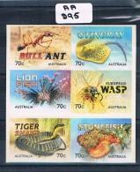 Australia 2014  Sting 6val  P/s Ex-booklet Muh AA295 - 2010-... Elizabeth II