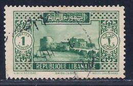 Lebanon, Scott # 119 Used Saida, 1930, Trimmed Perfs - Lebanon