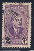 Lebanon, Scott # 145 Used Pres. Edde, Surcharged, 1937 - Lebanon