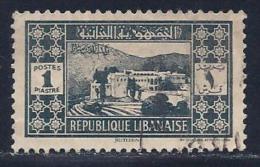Lebanon, Scott # 152 Used Bietetdine, 1939 - Liban
