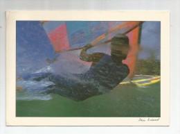 Cp , 17 X 12 , Photo : Alain ROSSIAUD , Planche à Voile , Sports Nautiques , Voyagée , Ed : Baudry , 88196 - Cartes Postales