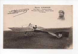 Marius LACROUZE - Chef Pilote - Monoplan Deperdussin - AMBERIEU 01 (14) - Airmen, Fliers