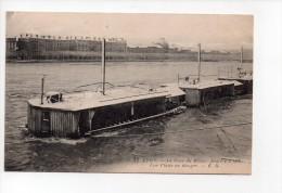 Lyon - La Crue Du Rhône Janvier 1910 - Une Platte En Danger (14) - Floods