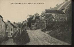 Auvers Sur Oise La Rue Des Pilonnes - Auvers Sur Oise