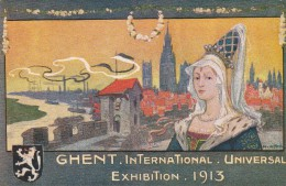 BELGIQUE - GHENT - INTERNATIONAL UNIVERSAL EXHIBITION 1913 - Gent