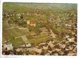CPSM SIERRE (Suisse-Valais) - En Avion Au Dessus De..... - VS Valais