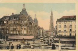 BELGIQUE - ANVERS - CANAL AU SUCRE ET FLECHE CATHEDRALE - Belgique