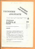 RADIO-AMATEUR: Revue Italienne De Juin 1981 - Livres, BD, Revues