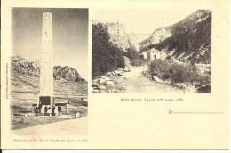 05 - Obélisque Du Mont-Genèvre - Hautes-Alpes - 1854 M - Pont Baldy - Andere Gemeenten