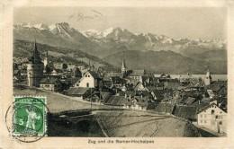 Suisse ZG ZUG Und Die Berner Hochalpen   ....G - ZG Zoug