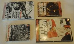 Lot De 4 Livres Militaires - 1939-45