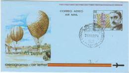 SPAGNA - ESPAÑA - Spain - Espagne - 1991 - Aerogramme - Stamped Stationery