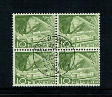 TIMBRE OBLITERE.1949 . BLOC DE 4 .Zum.Nr 299 . - Oblitérés