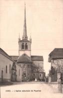 SUISSE L'EGLISE ABBATIALE DE PAYERNE CIRCULEE 1910 - Sin Clasificación