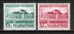 Reich N° 614 Et 615 Neufs * - Allemagne