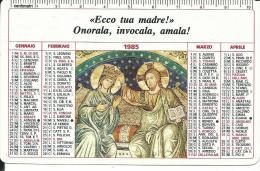CAL208 - CALENDARIETTO 1985 - STUDENTATO MISSIONI - BOLOGNA - Formato Piccolo : 1981-90