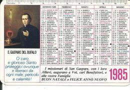 CAL210 - CALENDARIETTO 1985 - S. GASPARE DEL BUFALO - Formato Piccolo : 1981-90