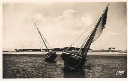 CPSM - QUIMIAC-en-MESQUER (44) - Barques De Pêche Au Port - Other Municipalities