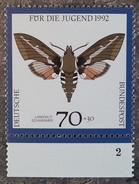 RFA - 1992 - YT N°1431 - Faune / Papillons - [7] Federal Republic