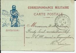 """1918 - CARTE FM TYPE """"POILUS"""" - Marcophilie (Lettres)"""