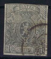 Belgium  1860 OBP Nr  22 Used Obl - 1866-1867 Kleine Leeuw